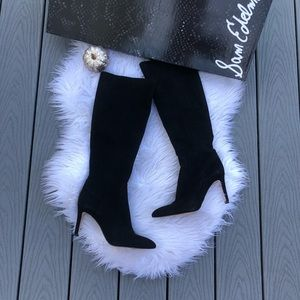 Sam Edelman suede knee high boots